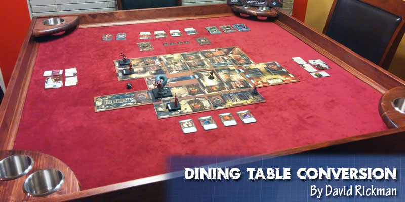 Coolest DIY Gaming Tables Webb Pickersgill - Cheap board game table