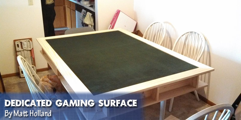 Coolest DIY Gaming Tables Webb Pickersgill