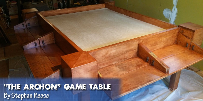 Coolest DIY Gaming Tables Webb Pickersgill - Make your own gaming table