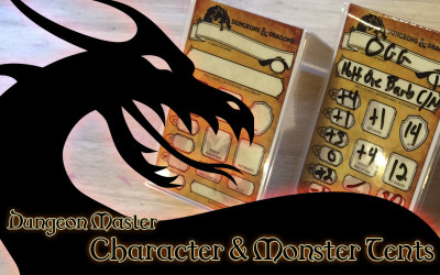 Dungeon Master – Character & Monster Tents