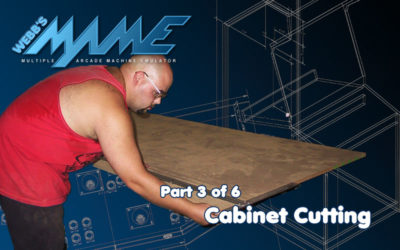 MAME – Cabinet Cutting