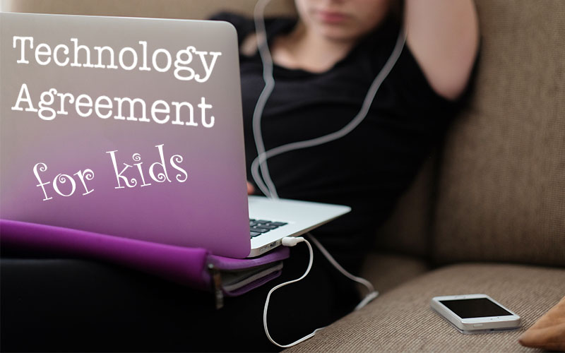 Technology Agreement For Kids