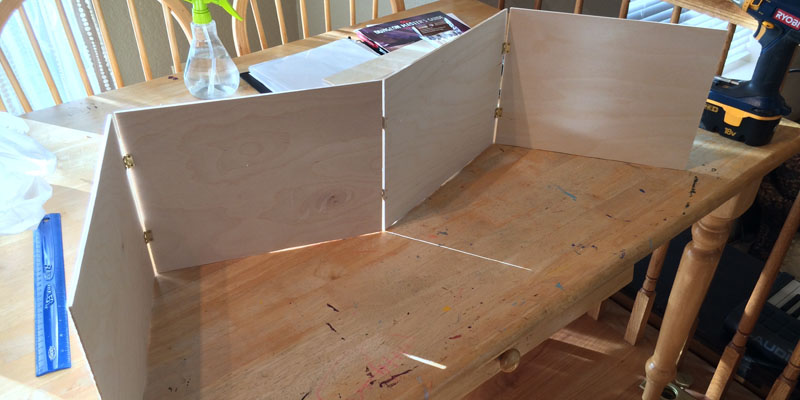Diy Wood Dungeon Master Screen Webb Pickersgill