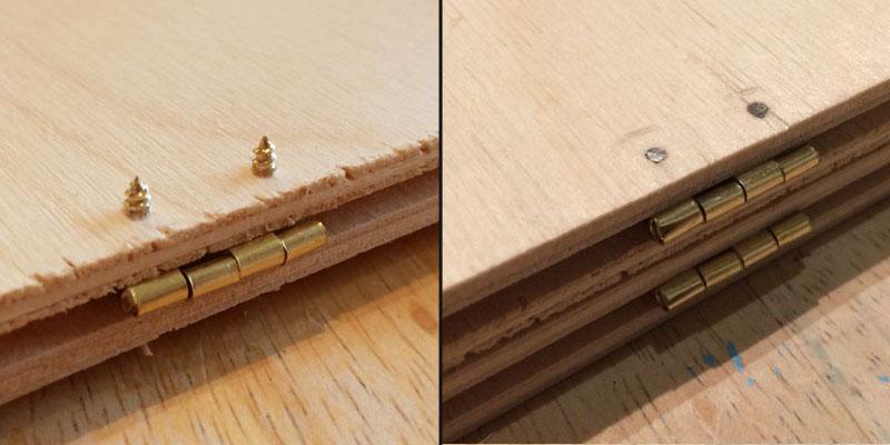 DM Screen screws protruding.