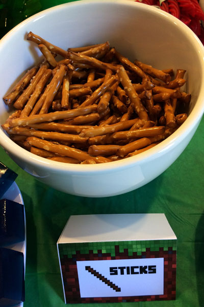 Minecraft Food - Sticks