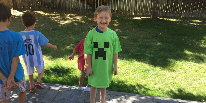 Minecraft Creeper Tag