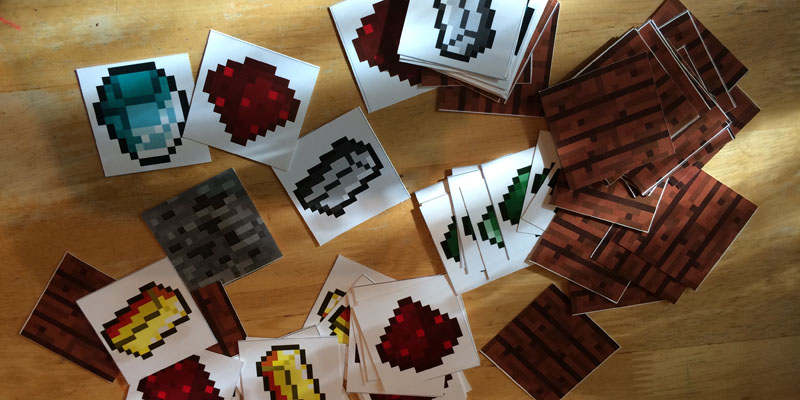 Minecraft Crafting